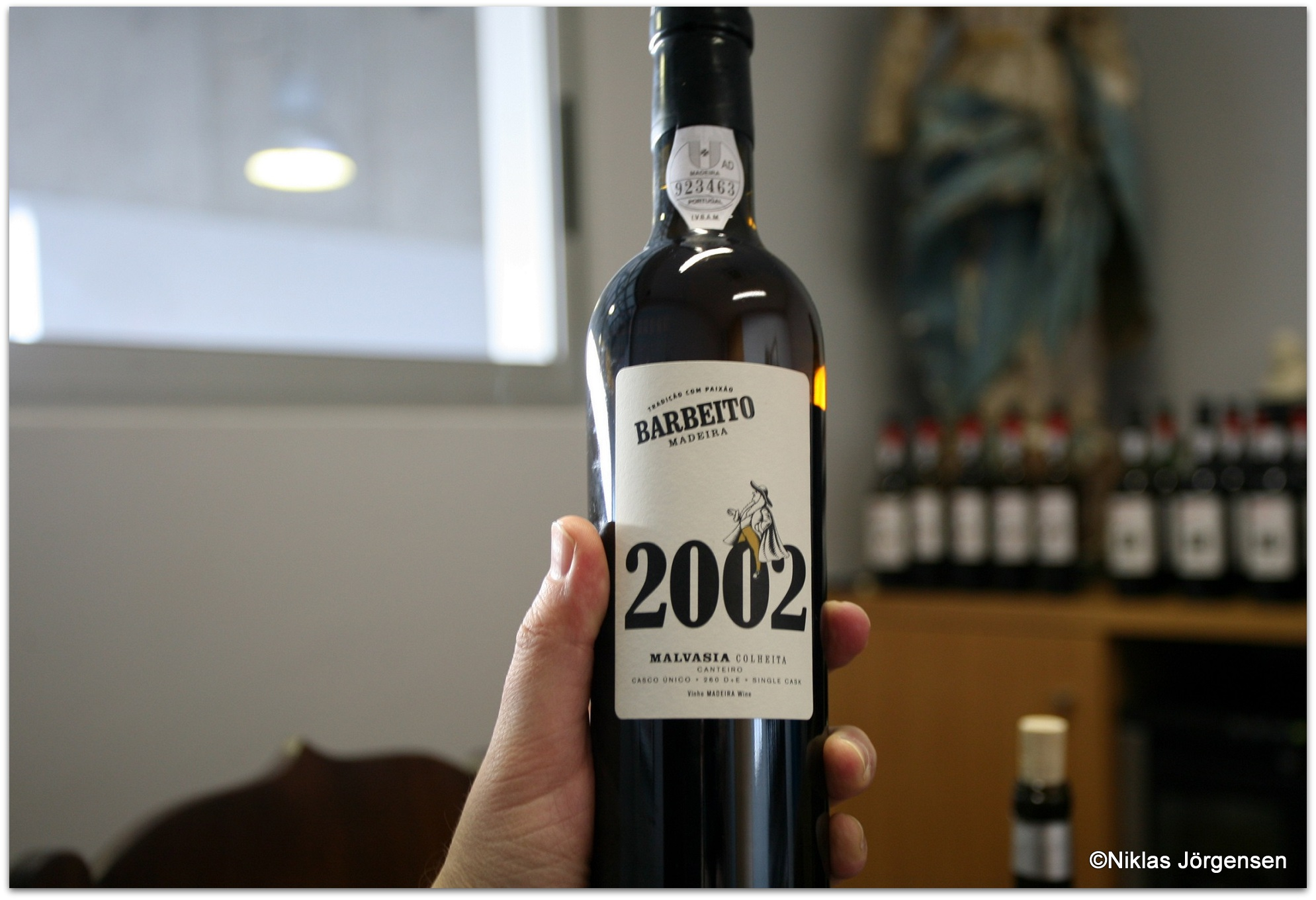 2002 Malvasia Single Cask 260 D + E