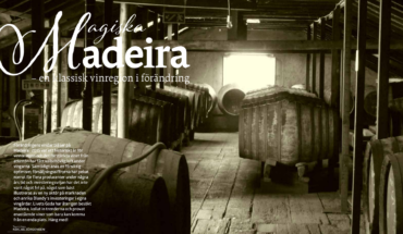 Madeira article in Livets Goda